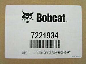 Bobcat Inner Air Filter Part 7221934 For Loaders T450 T550 T590 T595 T630 T650