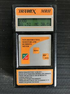 Tramex Mrh Non destructive Moisture And Humidity Meter