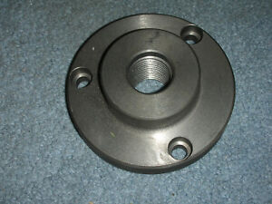 New Atlas Craftsman 6 Inch Lathe 1 10 3 Hole Backing Plate For 4 Inch Chucks