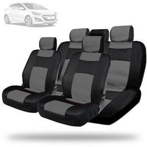 New Elegant Design Mesh And Synthetic Leather Car Seat Covers Bg For Hyundai