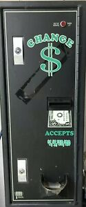 American Changer Ac1002 2300 Coin Change Machine Front Load High Security