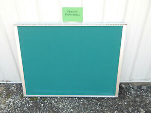 34 X 45 Felt Stick dry Erase Board With Aluminum Frame 2 Mounting Brackets