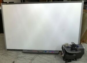 Smart Board Sb685 87 Interactive Presentation Whiteboard With Projector Loc Pl