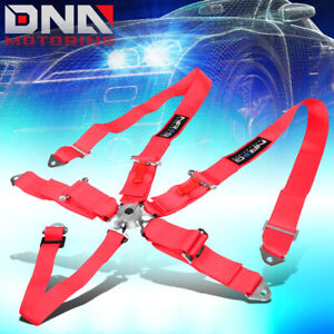Nrg Innovations Sbh r6pcpk 5 point Cam Lock Buckle 3 Racing Seat Belt Harness