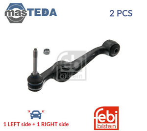 2x Febi Bilstein Lower Front Lh Rh Track Control Arm Pair 06463 P New