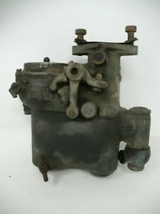 Vintage Schebler Model 51 Brass Carburetor Sx82 Sv75 Markings All Parts Move
