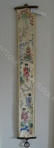 House Bell Pull Cord Japanese Embroidery Nice Hardware