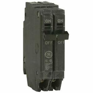 General Electric Thqp250 Circuit Breaker 2 pole 50 amp Thin Series Magnetic
