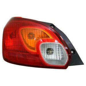 Fit Mitsubishi Mirage 2014 2015 Left Driver Taillight Tail Light Lamp Capa