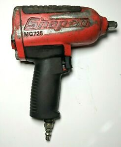 Snap on Mg725 Air Impact Wrench Pneumatic 1 2 Drive Tested Working