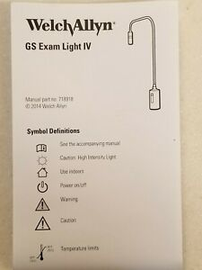 Welch Allyn Gs Exam Light Iv Led With Table wall Mount Dom