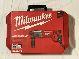 Milwaukee 1 In Sds D handle Rotary Hammer 5262 21