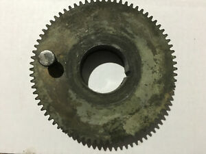 Very Nice Original South Bend 9 10k Metal Lathe Headstock Spindle Bull Gear