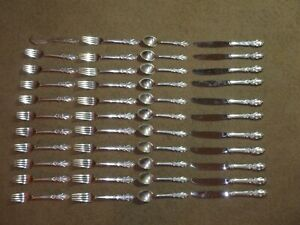 Towle Sterling Silver Flatware Esplanade Service For 10 Not Scrap 925 1458 G