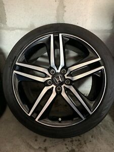 2016 2017 Honda Accord Sport Oem 19 Factory Wheel And Tire Rim Good Condition