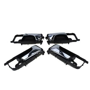 4ps Inside Chrome Door Handle Set For Gm Optra lacetti suzuki Forenza 2003 2007