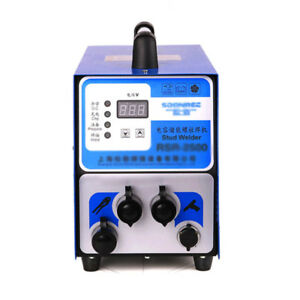 M3 m10 Studs Capacitor Discharge Studs Welder Bolt Plate Welding Machine 220v