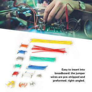 140pcs Solderless Breadboard Jumper Cable Wire Kit For Arduino Shield Diy Box