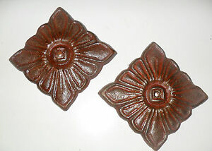 Beautiful Fancy Victorian Medallions For Windows And Door Frames Square