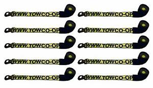 Baproduct 10 Yellow 38 3d Wheel Strap Century Dynamic Tow Truck Flatbed Wrecker