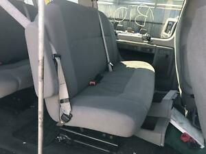 09 10 11 12 13 14 Ford Van E150 E250 E350 Rear Bench Seat 2nd Row Seat Oem