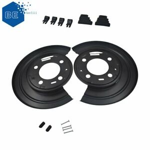New Rear Brake Dust Shield Backing Plates Pair For Ford F250 F350 Excursion Us