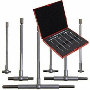 Bore Gauge 6 Pc 5 16 quot 6 quot Premium Telescopic High Precision T gage Set