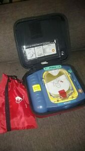 Philips M5085a Heartstart Onsite Aed Defibrillator Trainer Blue Unit