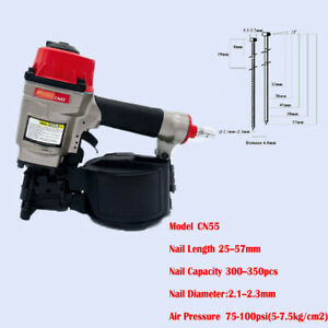 57mm Professional Quality Max Design Pneumatic Air Pallet Coil Nailer Cn55