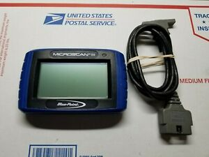 Blue Point Eesc720 Microscan Iii Obd Ii Automotive Diagnostic Scanner Tool
