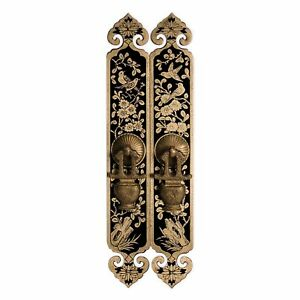 Cbh Chinese Sparrow Brass Hardware Door Cabinet Pull 10