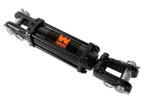 Wen Tr2004 2500 Psi Tie Rod Hydraulic Cylinder With 2 In Bore And 4 In Stroke