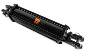 Wen Tr3512 2500 Psi Tie Rod Hydraulic Cylinder With 3 5 Bore And 12 Stroke