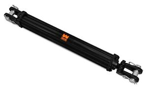 Wen Tr2024 2500 Psi Tie Rod Hydraulic Cylinder With 2 In Bore And 24 In Stroke