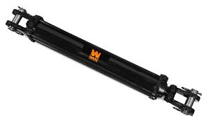 Wen Tr2524 2500 Psi Tie Rod Hydraulic Cylinder With 2 5 Bore And 24 Stroke