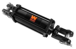 Wen Tr3012 2500 Psi Tie Rod Hydraulic Cylinder With 3 In Bore And 12 In Stroke
