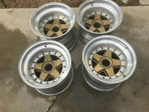 4 Gotti Centerlock Racing Wheels For Early Rsr Porsche