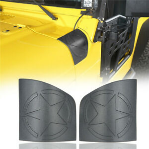 Abs Body Armor Cowl Guards Exterior Accessories For 1997 2006 Jeep Wrangler Tj