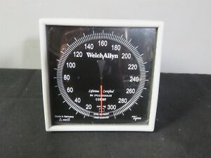 Welch Allyn Tycos Wall Mount Bp Monitor Flexiport Cuff Attachment Gauge 767