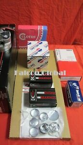 Dodge 440 Engine Kit Pistons Op 1975 80 Race Timing Gaskets Bearings Moly Rings