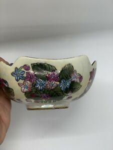 Chinese Tea Bowl Lusterware Colorful