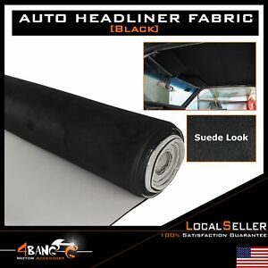 Suede Headliner Fabric Car Boat Foam Ceiling Replace Sagging Down Repair 24 X60