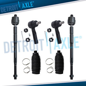 For 1998 1999 2000 2001 Nissan Altima Inner Outer Tie Rod End Links