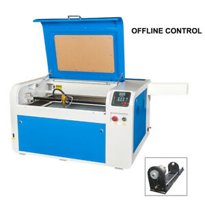 Co2 400x600mm 60w Laser Engraving Cutting Machine Rotary Axis Offline Control