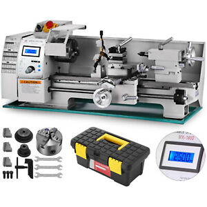 Brushless Motor Mini Metal Lathe Woodworking Tool High Precision Machine 750w