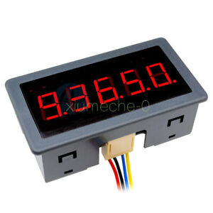 0 56 Red Led Digital Counter Meter Count Timer Timing Three Function Dc12v 24v