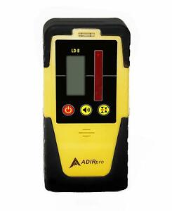 Universal Rotary Laser Receiver Detector Dual Display Ld 8 Topcon Leica Cst Pls