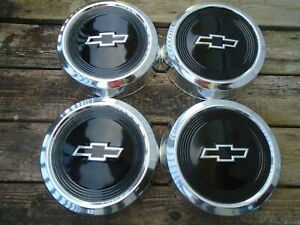 Chevy S10 astro Truck Dog Dish Hubcaps Set Of 4 Oem nice