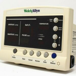 Welch allyn Series 52000 Protocol Quick Signs Vital Signs Monitor