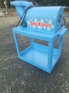 Gold Medal Sno king Sno Cone Sno Kone Ice Shaver Machine Shave Ice Snow Party